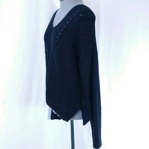 Converse Tops - Converse All Star Long Sleeve Knit Top Black Women